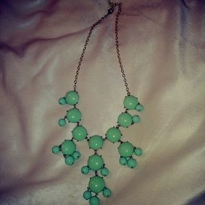 Jewelry - Mint Green Bubble Necklace